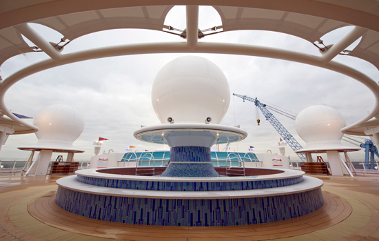Satellite Falls Aboard the Disney Fantasy