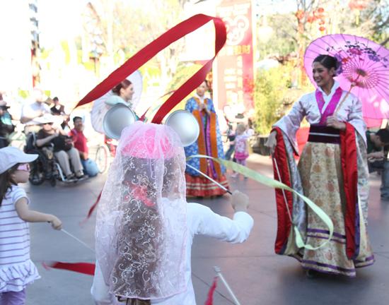 Celebrate the Lunar New Year at Disneyland Park