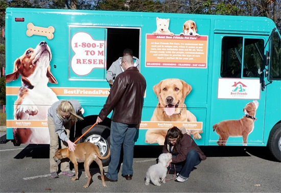 Doggy Treat Truck Goes to Walt Disney World Resort