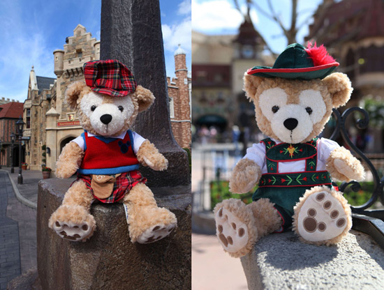 Duffy the Disney Bear United Kingdom and Germany Costumes