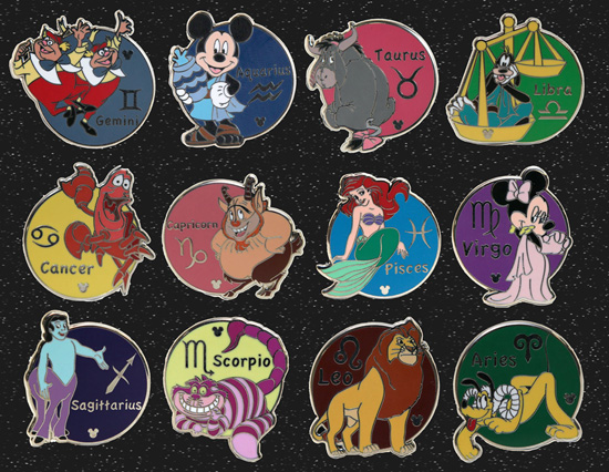 First Look at New Hidden Mickey Pins for 2012 at Disney Parks
