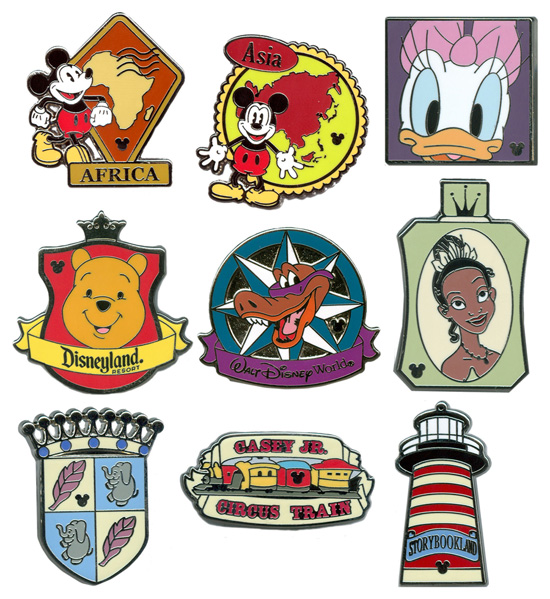 New Hidden Mickey Pin Series Coming to Disneyland and Walt Disney World Resorts in 2012