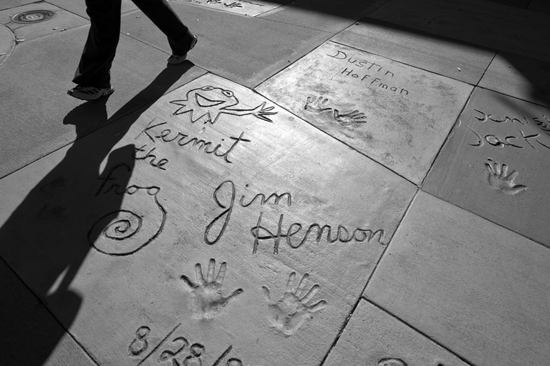 Hollywood Yard of Fame at Disney's Hollywood Studios