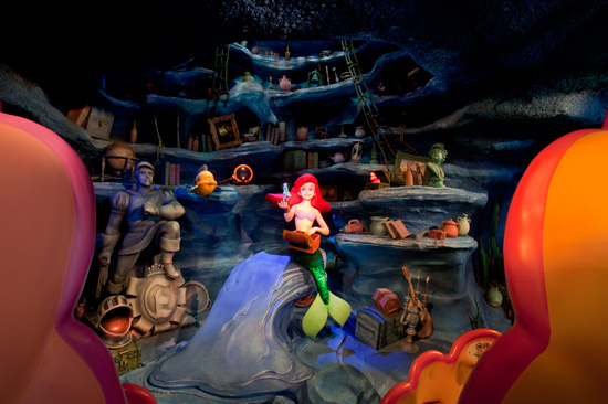 The Little Mermaid ~ Ariel's Undersea Adventure at Disney California Adventure Park