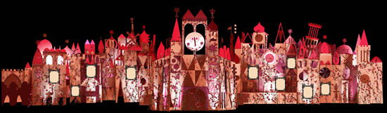 'it's a small world' at Disneyland Park Will Feature Romantic Moments in Disney Animation Beginning Feb. 1 as Part of 'The Magic, The Memories and You!'