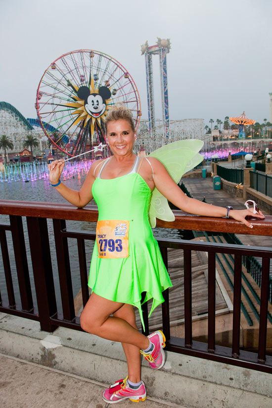 Meet-Up and Fly Away Through the Disneyland Resort for Tinker Bell Half Marathon Weekend
