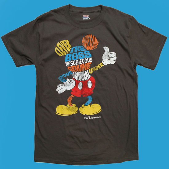 Mickey Mouse Character T-Shirts Arriving this Spring at Disney Parks