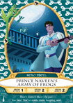 Prince Naveen's Army of Frogs Card, Part of the Sorcerers of the Magic Kingdom Game at Walt Disney World Resort