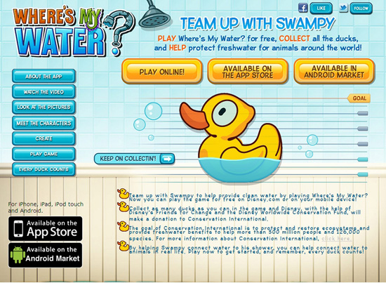 Play Disney's 'Where's My Water' to Help Raise Awareness About the Importance of Clean Water