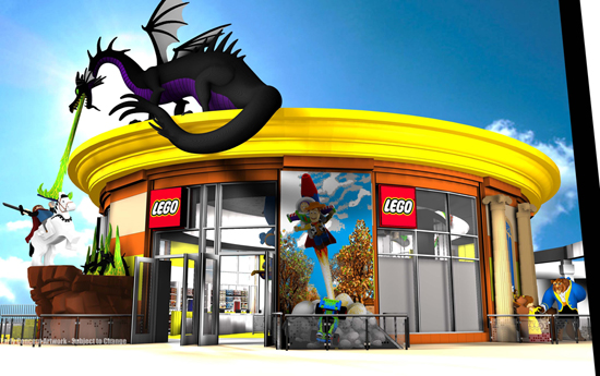 The New and Completely Remodeled LEGO Store at Downtown Disney District at Disneyland Resort is Coming This Spring