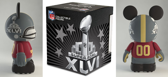 New Vinylmation Collectible in Honor of Super Bowl XLVI Comes to Disney Parks