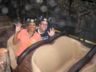 Nate Rides Splash Mountain with a Fellow Cast Member for One More Disney Day