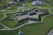 Disney Cruise Line Stops at the Citadel, a National Historic Site in Halifax, Nova Scotia