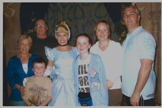 Walt Disney World Moms Panel Andrea Houston-Lingman with her Family at Disney Parks