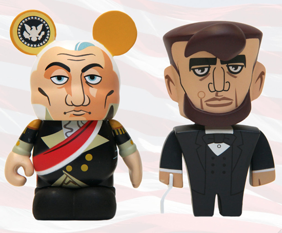 A Patriotic Vinylmation Salute on Presidents Day