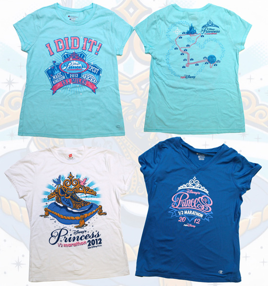 Apparel for Disney's Princess Half Marathon Weekend at Walt Disney World Resort