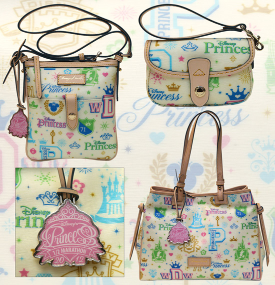 Dooney &#038; Bourke Bags Created for Disney's Princess Half Marathon Weekend at Walt Disney World Resort