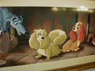 Ducky Williams' Artwork in Tony's Town Square Café in Magic Kingdom Park
