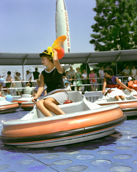 Caption This: Flying Saucers at Disneyland Park