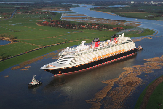 Disney Fantasy Prepares for Transatlantic Voyage for Christening Ceremony in NYC