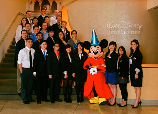 College Students that Participated in the Walt Disney Imagineering Competition