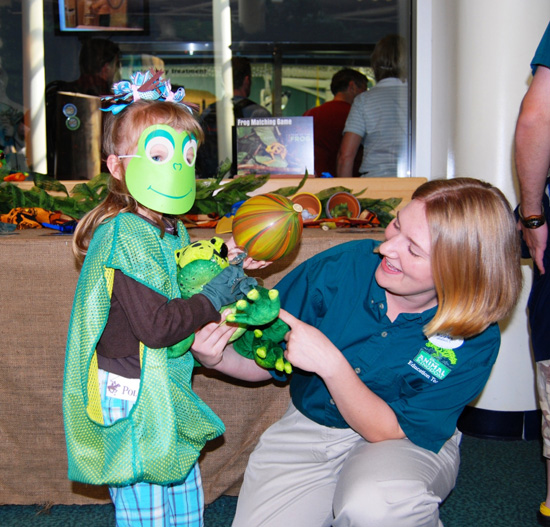 Guests Learn About Frogs, Toads and Other Amphibians During a Special Leap Day Event at Disney's Animal Kingdom