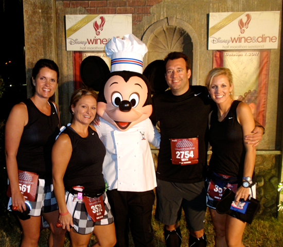 Lori Lovell Joins the Disney's Princess Half Marathon Weekend at Walt Disney World Resort