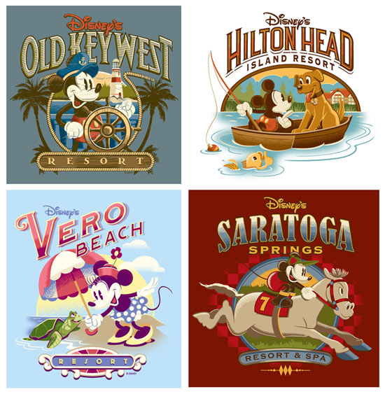 New Merchandise Logos for Disney Parks and Resorts