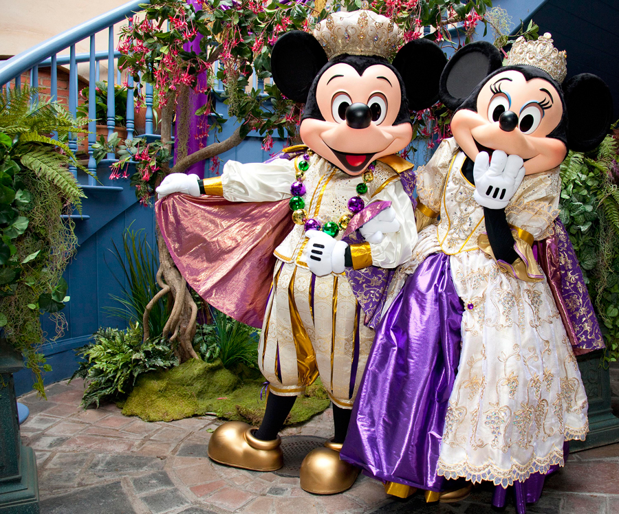 Join Mickey and Minnie Mouse at the New Orleans Bayou Bash at Disneyland Park