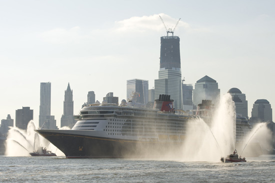 Disney Fantasy Ready for New York City Christening Ceremony