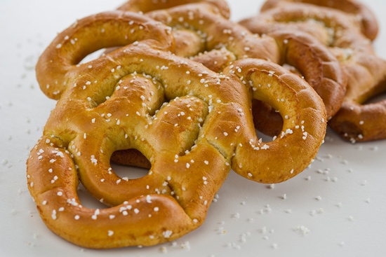 Mickey Mouse Pretzel Available at Disneyland Park