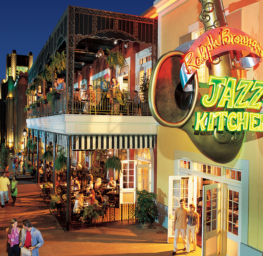 the jazz kitchen downtown disney will notice