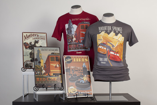 Disney California Adventure Park Attraction Poster-Inspired Tees, Deluxe Prints and Metal Signs Coming This Weekend