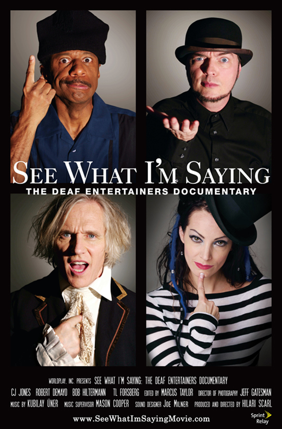 'See What I'm Saying' Playing at AMC Theatres in Downtown Disney District at Disneyland Resort