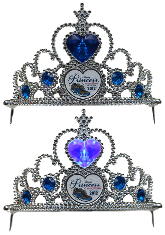 Light-up Tiara Created for Disney's Princess Half Marathon Weekend at Walt Disney World Resort