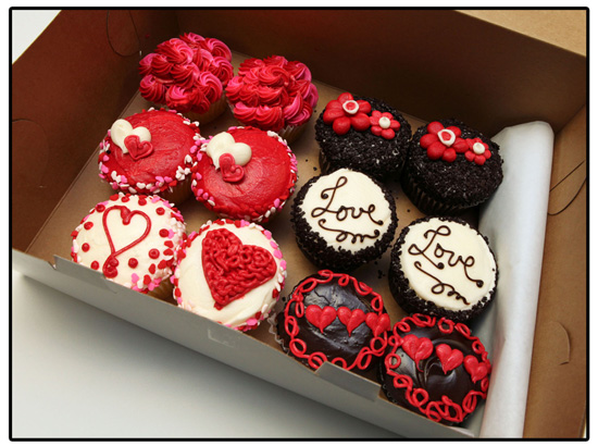 Cupcakes at Disney Parks for Valentine's Day