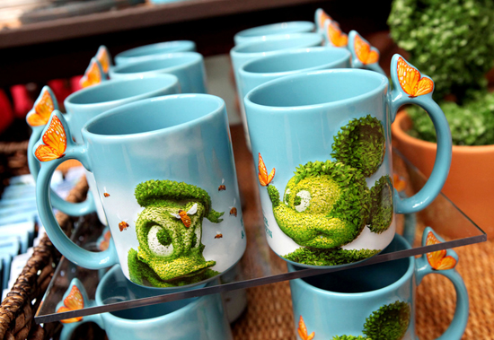 Epcot International Flower & Garden Festival Topiary-Themed Mugs