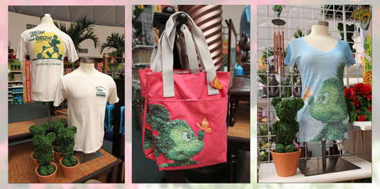 Epcot International Flower & Garden Festival Topiary-Themed Merchandise
