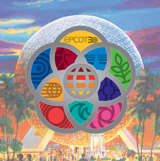 Epcot Celebrates its 30th Anniversary with New Jumbo Pins