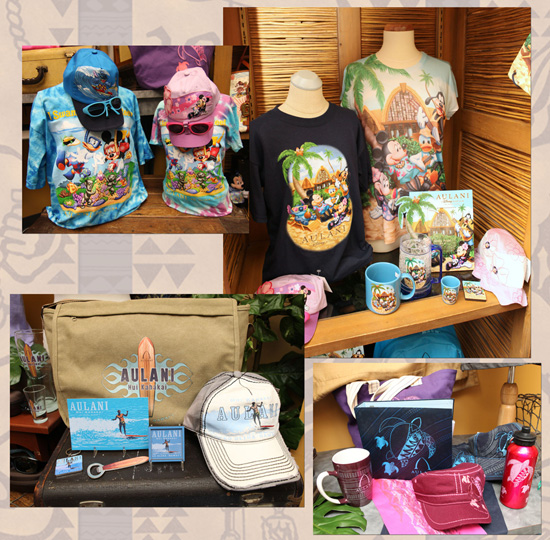 Different Merchandise Styles at Aulani, a Disney Resort &amp; Spa