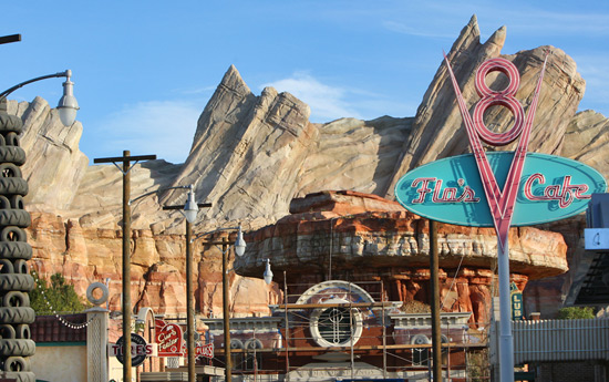 Flo's V8 Café Coming to Cars Land at Disney California Adventure Park