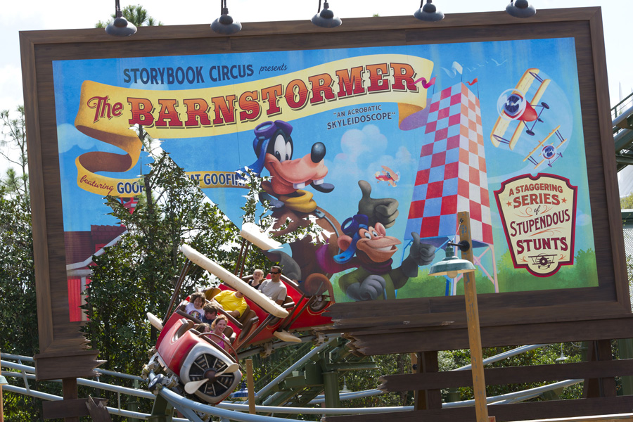 Barnstormer - Starring the Great Goofini at New Fantasyland at Magic Kingdom Park