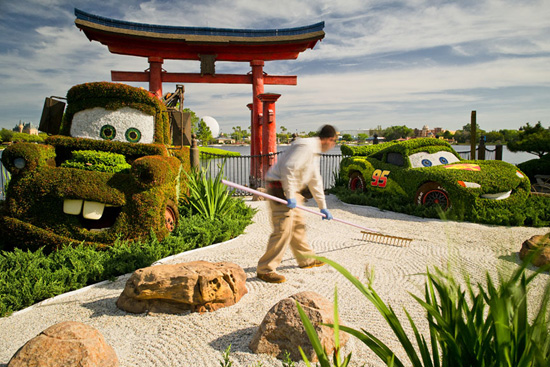PHOTOS: A Look Inside the Zen Garden at Epcot