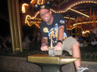 Nate Tries to Pull the Sword from the Stone in Fantasyland
