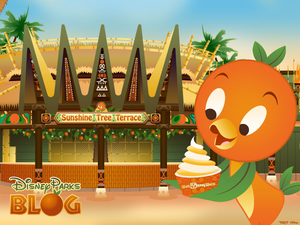 Desktop Wallpaper Featuring Orange Bird, Returning Today to Magic Kingdom Park at Walt Disney World Resort
