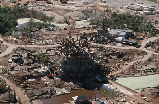 Vintage Walt Disney World: Building The Tree of Life at Disneys Animal Kingdom