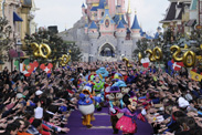 Disney Characters Celebrate the 20th Anniversary of the Opening of Disneyland Resort Paris