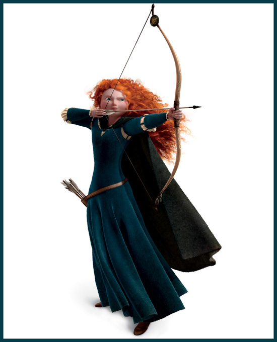Merida from DisneyPixar's 'Brave