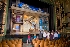 Disney Cruise Line Guests Take an Exclusive Tour of the Theatre
