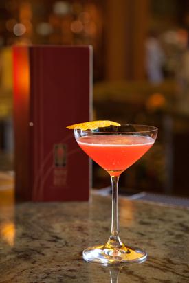 Napa Passion Cocktail at Napa Rose